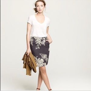 J. Crew Mirabel Pencil Skirt
